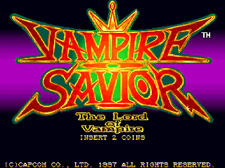 Vampire Savior : The Lord of Vampire