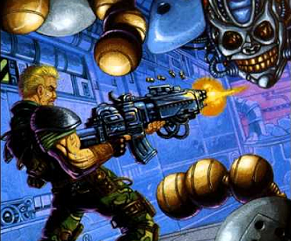 Contra: The Hard Corps 99 lives