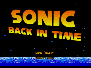 Sonic Back In Time