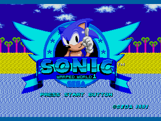Sonic 1 - Warped World