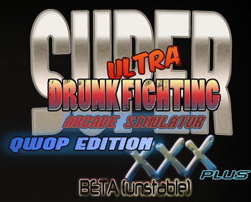 Super Ultra Drunk Fighting Arcade Simulator QWOP